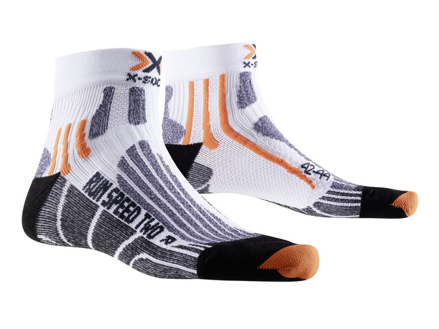 X-Socks Run Speed Two Socks Men White/Black
